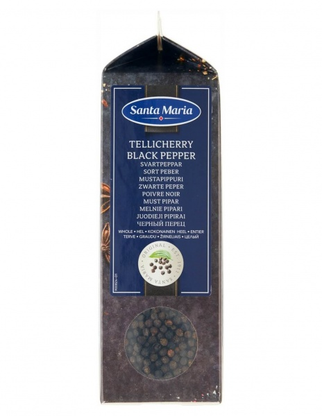 Tellicherry Black Pepper, Whole 450g